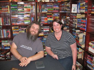 Patrick Rothfuss and Jessie