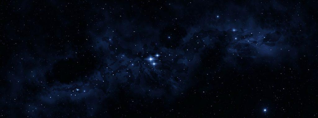 Space star field