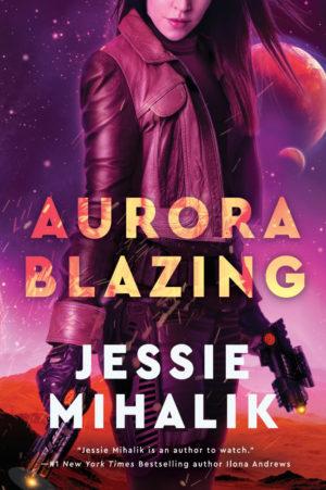 Aurora Blazing Cover