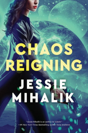 Chaos Reigning Cover