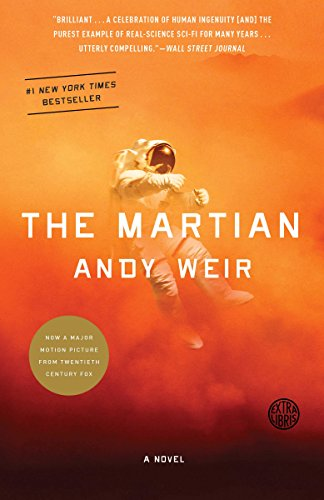 The Martian: A Novel by Andy Weir Cover