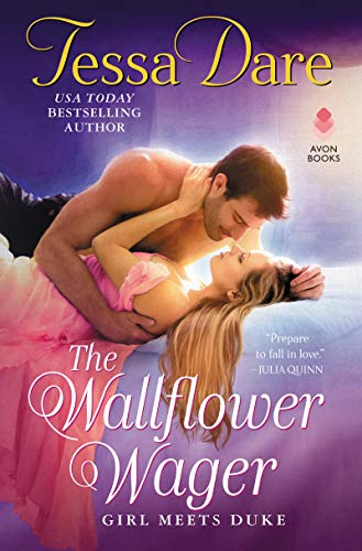 The Wallflower Wager: Girl Meets Duke by Tessa Dare Cover