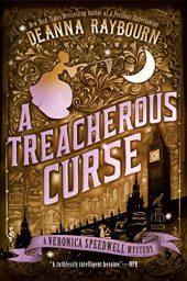 A Treacherous Curse (A Veronica Speedwell Mystery Book 3) by Deanna Raybourn Cover