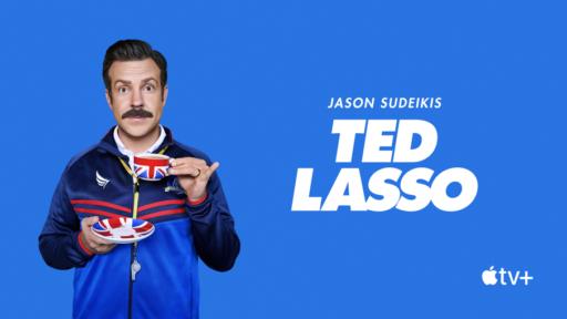 Jason Sudeikis as Ted Lasso on AppleTV+